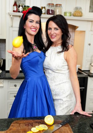 Domestic Divas Aisli Madden and Kat Lawlor.