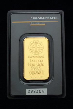 Gold Bullion Product Photography.