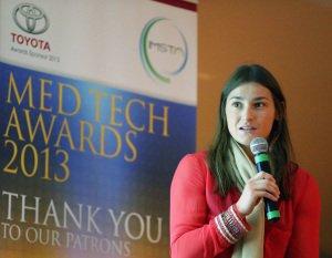 Katie Taylor at IMSTA Medtech Awards.