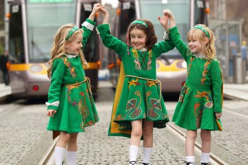 Luas Irish Dancing PR Photo.