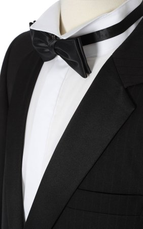 Tuxedo Close up photo.