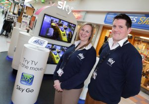 Sky Digital Ireland Staff Photo.