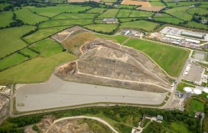 Aerial Photography of Landfill Site.