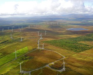 Aerial Photos of Donegal Windfarm.