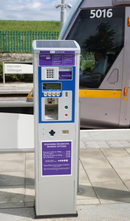 Luas Park and Ride Machines.