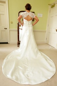 Stunning Bridal Dress photograph.