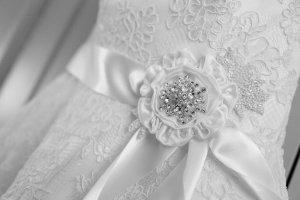 Stunning Photograph of Bridal Dress.