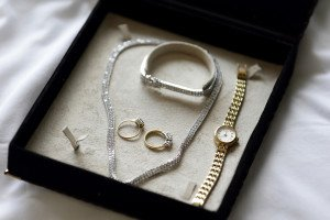 Wedding Watch and Bridal Jewellery.