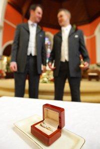 Close up Wedding Rings Photo Detail