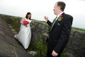 Wedding Couple, fun photography.