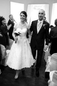 Bride & Groom after civil ceremony.