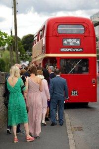 Wedding Bus Photography.