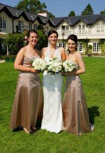 Bride & Bridesmaids.