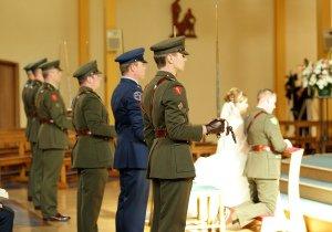 Military Wedding Ceremony.