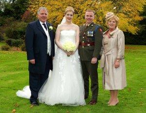 Wedding Photo of Family at Leixlip House.