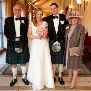 Druids Glen Formal Family Wedding Photos.