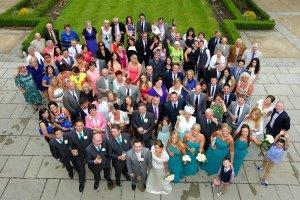 Wedding Group Photo Tulfarris.