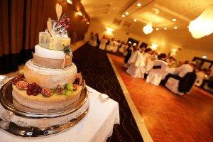 Wedding Cake - Cheese Cake.