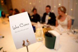 Wedding Reception Top Table.